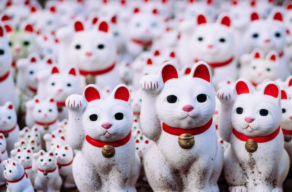 El Templo Gotokuji — Gatos, gatos y gatos.