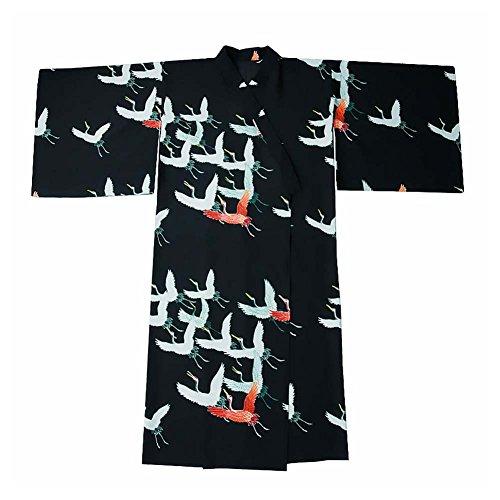 Albornoz-del-Traje-del-Kimono-de-Las-Mujeres-retras-del-Estilo-japons-con-la-Cintura-gra-Red-Crowned-0