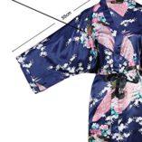 ArtiDeco-Vestido-Kimono-Pijama-de-Seda-Novia-Kimono-de-Seda-Ropa-de-dormir-de-Satn-Estampado-Pavo-Real-0-1