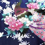 ArtiDeco-Vestido-Kimono-Pijama-de-Seda-Novia-Kimono-de-Seda-Ropa-de-dormir-de-Satn-Estampado-Pavo-Real-0-2