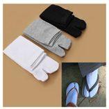 Calcetines-de-dos-dedos-SodialR-para-sandalias-japonesas-tipo-Tabi-Geta-y-Zori-3-pares-negro-blanco-y-gris-0-0