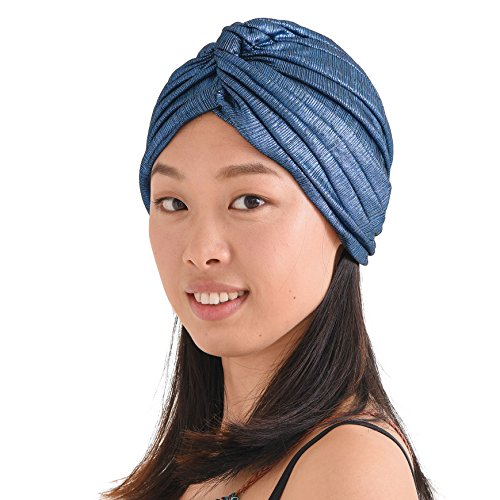 Casualbox-Twist-Plisado-Turbante-Bandana-rabe-Indio-Moda-Quimio-Sombrero-0