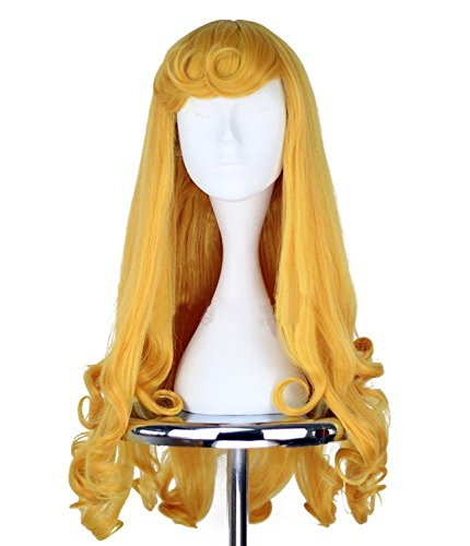 DAYISS-La-Bella-Durmiente-Aurora-Princesa-de-largo-ondulado-y-rizado-cosplay-peluca-0