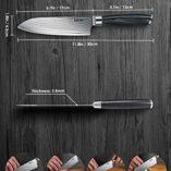 Deik-Cuchillo-Damasco-Cuchillos-de-Cocina-Hoja-16cm-Acero-Inoxidable-de-Alto-Carbn-Profesional-Mango-Ergonmico-Cuchillos-Japones-0-6