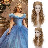 Falamka-marrn-pelo-princesa-estilo-con-mechones-largo-rizado-cosplay-peluca-de-Cenicienta-0-2