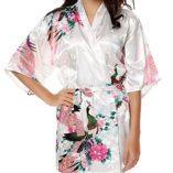 HonourSport-Albornoz-Mujer-Pava-Corto-Pavo-de-Satn-Camisn-Sexy-Pijama-Vestido-0-0