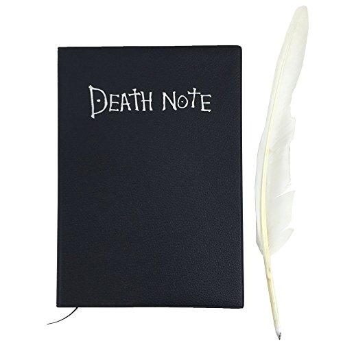 Katara-1732–Death-Note–Cuaderno-Light-Yagami-Manga-Libro-De-La-Muerte-Con-Pluma-Cosplay-Negro-0