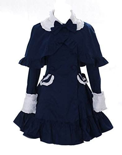 Kawaii-Story-JL-de-660-Cape-bergangs-Chaqueta-de-Trenchcoat-Oscuro-de-Azul-Victorian-Disfraz-Gtico-Lolita-Jacket-Cosplay-0
