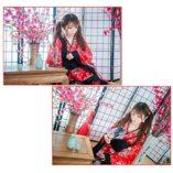 LUOEM-Traje-de-criada-tradicional-japonesa-Kimono-Cosplay-Outfit-Maid-Costume-Dress-Size-S-Red-0-0
