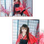 LUOEM-Traje-de-criada-tradicional-japonesa-Kimono-Cosplay-Outfit-Maid-Costume-Dress-Size-S-Red-0-2