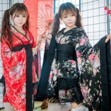 LUOEM-Traje-de-criada-tradicional-japonesa-Kimono-Cosplay-Outfit-Maid-Costume-Dress-Size-S-Red-0-4