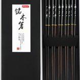 MaderaMadera-Palillos-aoosy-5-pares-japons-estilo-saludable-y-respetuoso-con-el-medio-ambiente-reutilizable-juego-de-palillos-con-funda-para-chino-japons-cena-0
