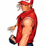 Mesky-Gorra-de-Bisbol-de-Terry-Bogard-Unisex-The-King-of-Fighters-Cosplay-Vintage-Rojo-Bordado-Ajustable-0-4