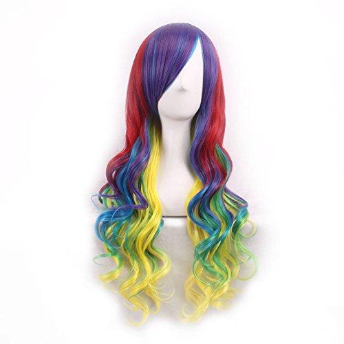 Mujeres-Ladies-Girls-70cm-Harajuku-Mix-amarillo-Gradiente-de-color-Carve-alta-calidad-del-estilo-japons-Anime-pelo-cosplay-del-partido-del-Anime-Bangs-completa-Sexy-Pelucas-0