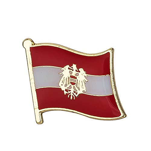 Patch-Nation-Austria-Austria-Bandera-de-Escudo-de-Metal-Pin-Badge-0