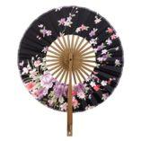 Plegable-Crculo-Abanico-de-Estilo-Japons-con-Dibujos-Flores-Sakura-0-8