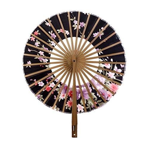 Plegable-Crculo-Abanico-de-Estilo-Japons-con-Dibujos-Flores-Sakura-0