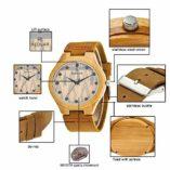 Reloj-de-Madera-de-bamb-para-Hombre-Cuarzo-japons-y-con-la-Correa-de-Cuero-Genuino-0-1