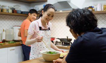 Una receta familiar: Los sabores de Japón y Singapur