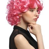 WIG-ME-UP–DEC31-PC2841-Peluca-seoras-Cosplay-Carnaval-Cortos-rizos-Rosa-Pink-voluminoso-Popstar-80-0-2