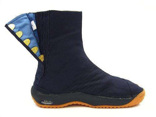 Zapatos-Ninja-Jikatabi-acolchonado-Air-Cushion-6-Clips-Directo-de-Japon-Marugo-0
