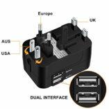 Zeuste-Adaptador-Enchufe-Universal-Enchufe-de-Viaje-con-2-Puertos-USB-para-EU-UK-USA-China-Japn-Compatible-con-150-Pases-y-Seguridad-de-Fusibles-para-Smartphones-Tableta-PC-Cmaras-DigitalesBlack-0-3