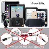 Zeuste-Adaptador-Enchufe-Universal-Enchufe-de-Viaje-con-2-Puertos-USB-para-EU-UK-USA-China-Japn-Compatible-con-150-Pases-y-Seguridad-de-Fusibles-para-Smartphones-Tableta-PC-Cmaras-DigitalesBlack-0-5