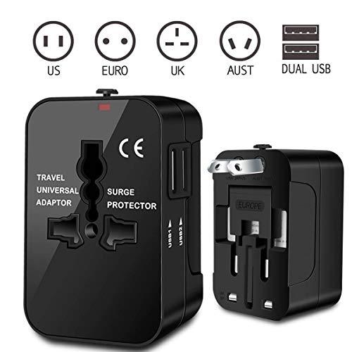 Zeuste-Adaptador-Enchufe-Universal-Enchufe-de-Viaje-con-2-Puertos-USB-para-EU-UK-USA-China-Japn-Compatible-con-150-Pases-y-Seguridad-de-Fusibles-para-Smartphones-Tableta-PC-Cmaras-DigitalesBlack-0